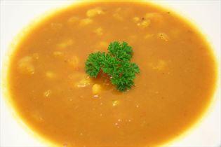 Hokkaido soup with prawns