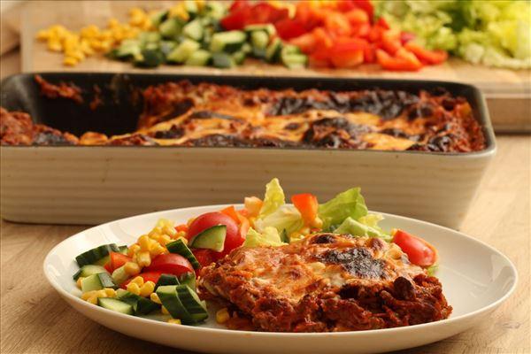 Lasagne with béchamel sauce