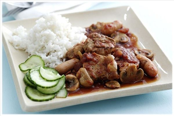 Pork tenderloin stew